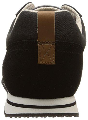 Le Coq Sportif Bolivar City Casual, Herren Sneakers Schwarz (Black)