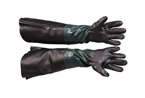 Sandstrahlhandschuhe 220/350/420 Handschuhe für Sandstrahlkabine Sandstrahlen