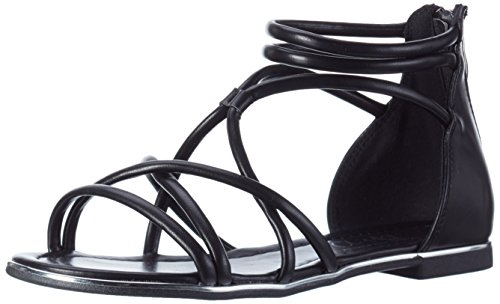 Another Pair of Shoes Damen Sandalen mit Reißverschluss Schwarz (Black01)