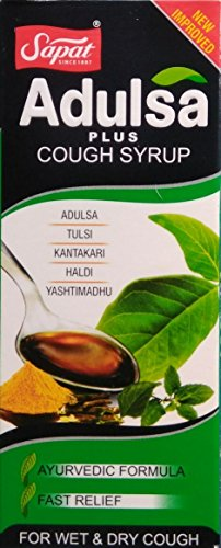 ADULSA 100ml syrup Ayurvedic Formula for Wet and Dry Cough (100 ml)