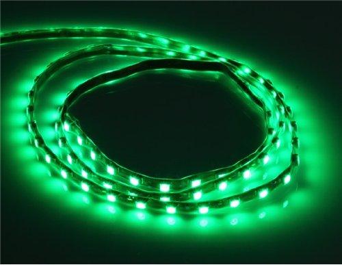 14.4 W 90 cm de resistencia al agua LED de luz de tira con la chaqueta (verde)