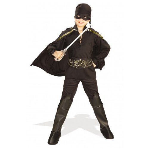 El Zorro-Kostüm für Kind