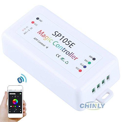 Licht-steuerung Und Remote-ventilator (chinly Bluetooth App IOS Android LED Pixel Controller DC5–24V für WS2811WS2812B APA102sk6812individuell addressabl Pixel Strip)