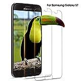 DOSNTO Protector Pantalla Compatible con Samsung GalaxyS7,[2 Piezas] Cristal Templado Samsung S7, Vidrio Templado con [2.5D Borde Redondo] [9H Dureza] [Alta Definiciony Sensibilidad]