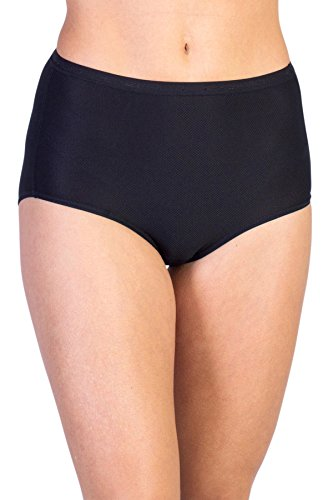 ExOfficio Give-N-Go Damen Unterhose, durchgehender Schnitt L Schwarz (De Ropa Deportiva Dama)