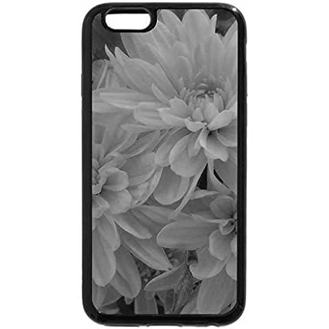 iPhone 6S Funda, iPhone 6Funda (Blanco y Negro)–Ramo de Floral, color amarillo