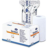 Varolast Plus 8 cm x 5 m, 1 Zinkleimbinde Verband Zinkleim Binde preisvergleich bei billige-tabletten.eu
