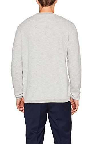 ESPRIT Collection Herren Pullover Grau (Grey 030) ...