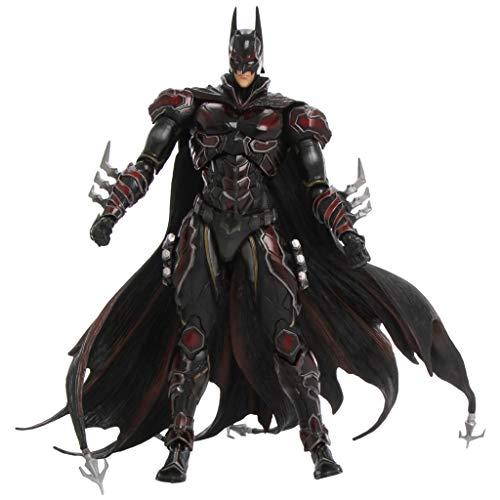 Siyushop Variante Play Arts Kai Bat Hero Rotes Kostüm Action Figure - Bat Hero Action Figures Figur - Ausgestattet mit Waffen und auswechselbaren Händen - Hohe 27CM
