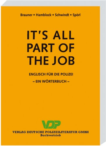 Download It's all part of the job : Wörterbuch