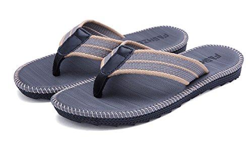 Herrenschuhe Männer Flip-flops 2019 Sommer Mode Casual Männer Sandalen Indoor Outdoor-flip-flops Für Strand Den Menschen In Ihrem TäGlichen Leben Mehr Komfort Bringen