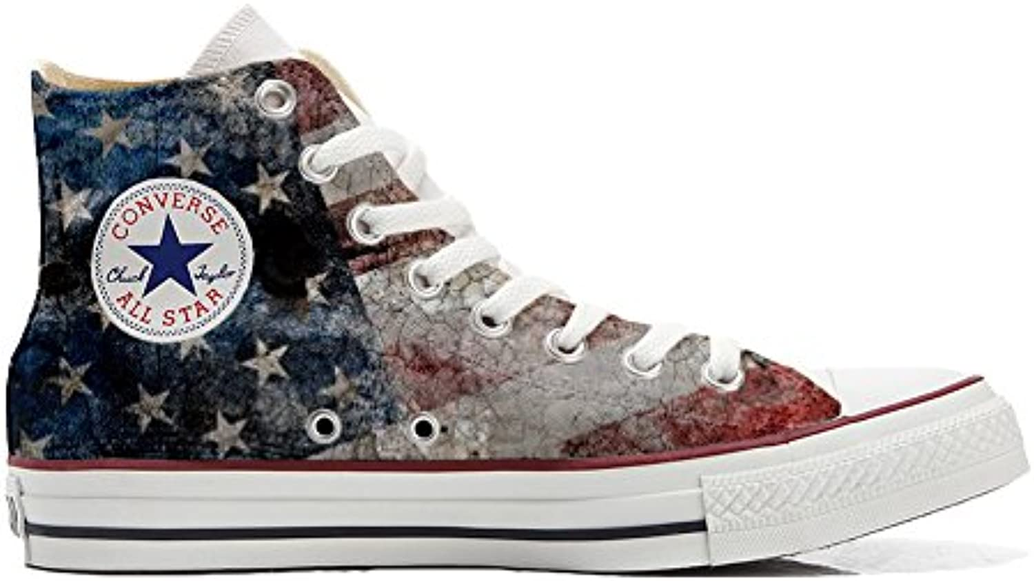 mys Converse All Star Customized Unisex   Personalisierte Schuhe (Handwerk Produkt) USA Old Size 35 EU