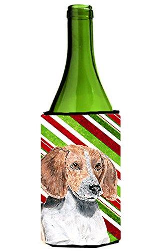 de-la-navidad-del-baston-de-caramelo-raposera-ultra-michelob-koozies-para-latas-delgado-750-ml-multi