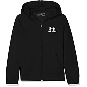 Under Armour Jungen Eu Cotton Fleece Fz Oberteil