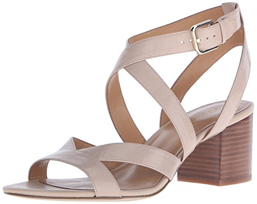 Nine West Leder Absatzsandale Absatzsandale Nine Natural Greentea Natural Greentea Nine West West Leder rgHxYwq41r