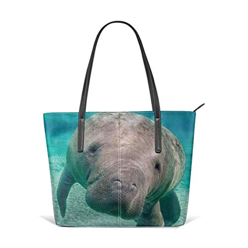 XGBags Frauen Umhängetaschen Manatee Tote For Women Leather Shoulder Bag Women's Large Capacity Work Handbag (Frauen Handtaschen Jessica Simpson)