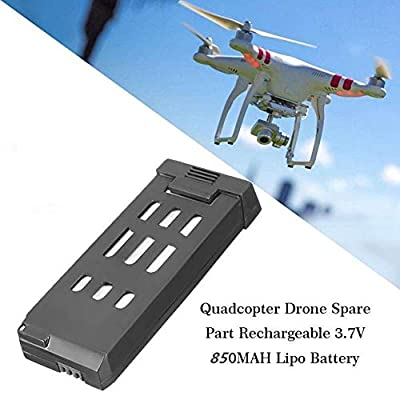 Drone Battery, 3.7V 850MAH Battery Replacement Drone Battery For Eachine E58 Quadcopter Drone