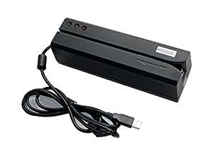 Deftun MSR606 HiCo Magnetic Stripe Card Reader Writer Encoder MSR206