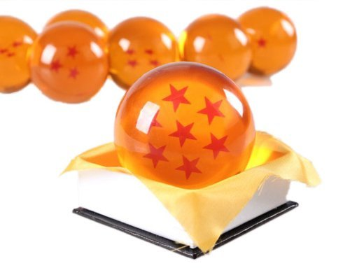 Requisiten einem Punkt Kristall 7cm Ruleronline (DRAGON BALL) Kristallkugel Sieben-Stern-Drache Ryu-dama (Japan-Import) (Ryu Cosplay Kostüm)