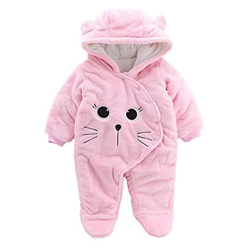 ZHRUI Neugeborenes Baby Mädchen Jungen Unisex-Kleidung, solide Cartoon-Muster -