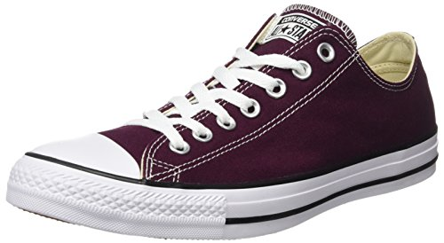 Converse Unisex Adults' Chuck Taylor All Star Trainers, Rot (Dark Sangria), 10...