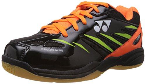 Yonex Excel FI M Badminton Shoes, UK 10 (Black/Black/Lime Green)
