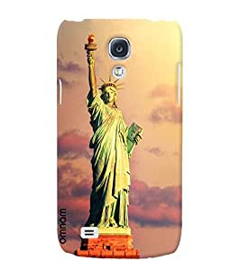 Omnam Statue Of Liberty Designer Back Cover Case for Samsung Glaxy S4