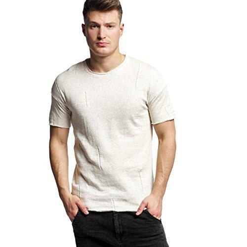 Black Kaviar Herren Oberteile / T-Shirt Sierra Beige