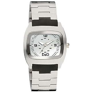 D&G Dolce & Gabbana DIG IT DW0321 – Reloj para mujeres, correa de acero inoxidable color plateado