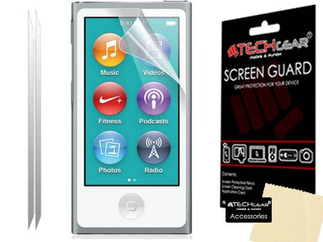 pack-of-2-techgearr-apple-ipod-nano-8-8th-generation-ipod-nano-7-7th-generation-clear-screen-protect