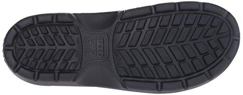 crocs Unisex-Erwachsene Reny II Boot Gummistiefel Schwarz (Black)