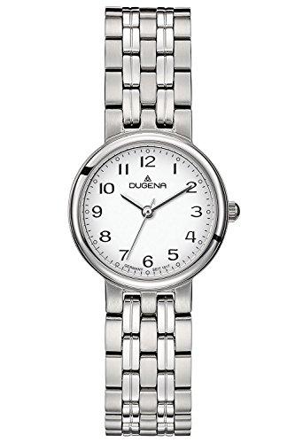 Dugena Damen Armbanduhr Brenda Edelstahl 26mm silber