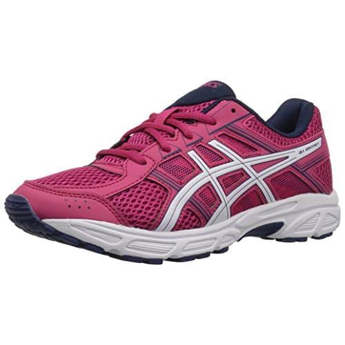 Asics Unisex-Child Gel-Contend 4 GS Shoes, 4.5 UK, Cosmo Pink/White/Indigo Blue