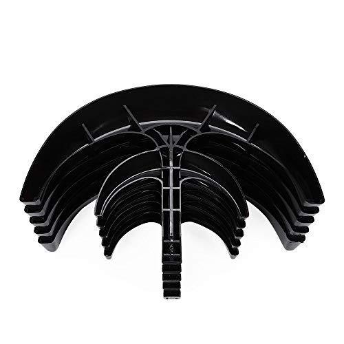 Buy 400W 12V 5 Blades Lantern Wind Turbine Generator Vertical Axis Black  with Controller at generatorsportablepower