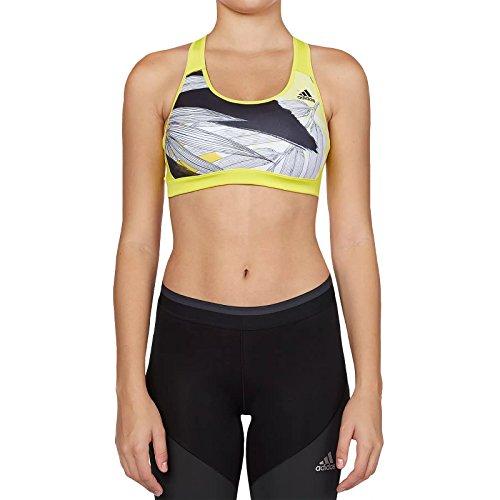 Adidas rb bra olympic reggiseno sportivo, giallo, 2xsc