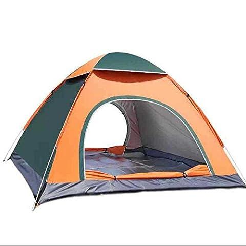 3-4 Personen Zelt wasserdichte Instant Pop Up Zelt Camping Strandmuschel Vordach