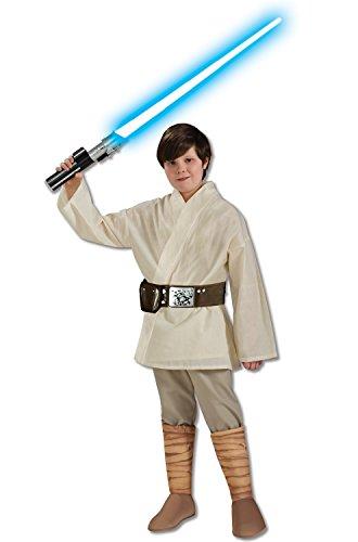 Kid Kostüm Luke Skywalker - Star Wars Deluxe Luke Skywalker Child Costume Large