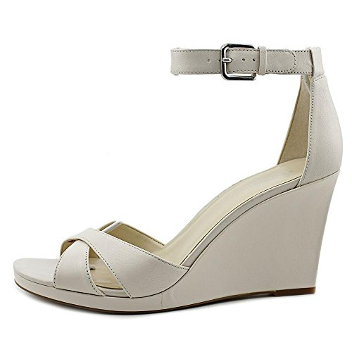Nine West Medano Synthétique Talons Compensés Off Whit