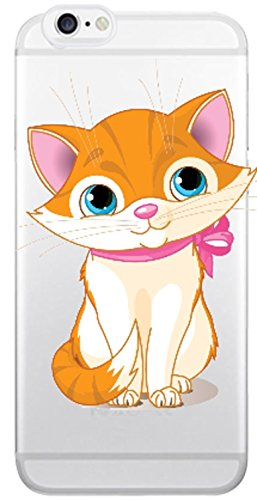 Blitz® Animaux Fables motifs housse de protection transparent TPE caricature bande iPhone Chien de dessin animé M14 iPhone X Bébé chat M2