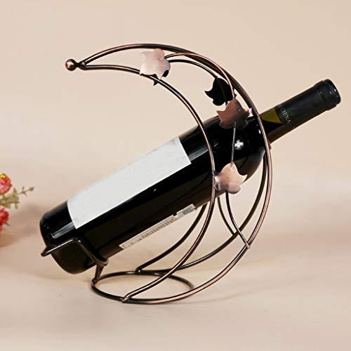 TAOtTAO - Soporte de Metal para Botellas de Vino