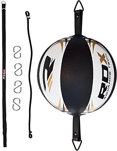 RDX Maya Cuoio Palla Tesa Double End Ball Dodge Speed Bag Veloce Boxe Allenamento Pugilato