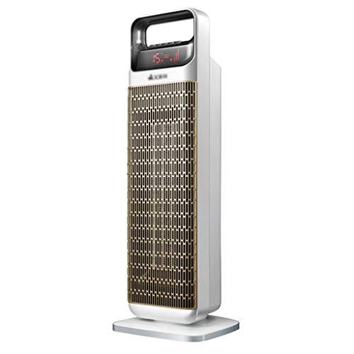 Heizung Badheizung Elektroheizung Home Fußbodenheizung Ventilator Heiß und kalt Turmventilator (Color : Gray, Size : 17.5 * 66cm)