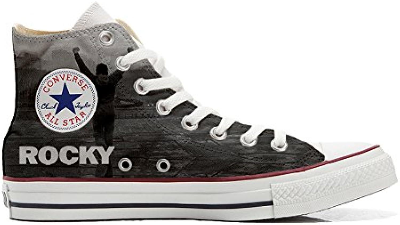 mys Converse All Star Customized Unisex   Personalisierte Schuhe (Handwerk Produkt) Boxe Size 40 EU