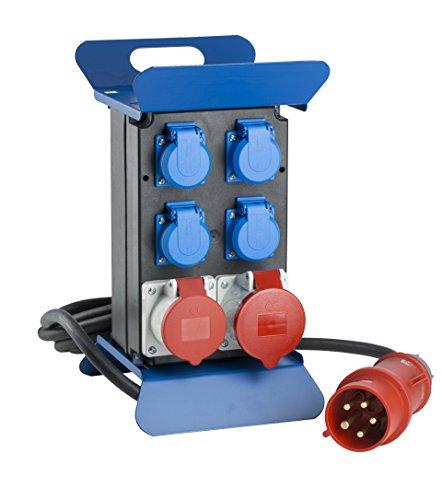60510 STECKY Stromverteiler 400V III, IP44 Aussenbereich