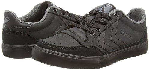 hummel STADIL OILED Unisex-Erwachsene Sneakers Schwarz (Black 2001)