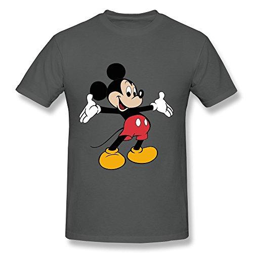 Mokro T-shirt Herren T-Shirt Gr. X-Large, Schwarz - Asphalt (Halloween-filme Donald Duck)