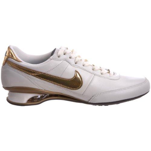 Nike Shox Vital , Baskets mode femme Blanc-TR-SW.91