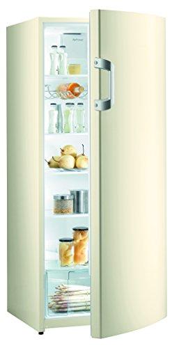 Gorenje R6152BC Kühlschrank / A++ / Höhe 145 cm / Kühlen: 302 L / Champagne creme / Umluft-Kühlsystem / 5 Glasabstellflächen