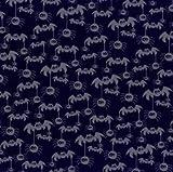 Bazzill Basics Paper 12 x 12 cm, Fledermaus Mobiles Stiefmütterchen Papier, 15 Stück, schwarz