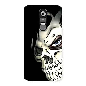 Delighted Nasty Face Art Multicolor Back Case Cover for LG G2
